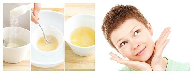 Gelatina își exercită cel mai bine efectele de înfrumusețare asupra pielii atunci când o consumăm intern. Doza recomandată este de 2 lingurițe de gelatină granule pe zi (fără arome), adăugate într-o jumătate de pahar de apă, suc de fructe, iaurt, cafea, ceai verde, smoothie sau orice altă băutură (non-alcoolică).