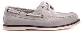 Timberland Men's Grey Leather Loafers.