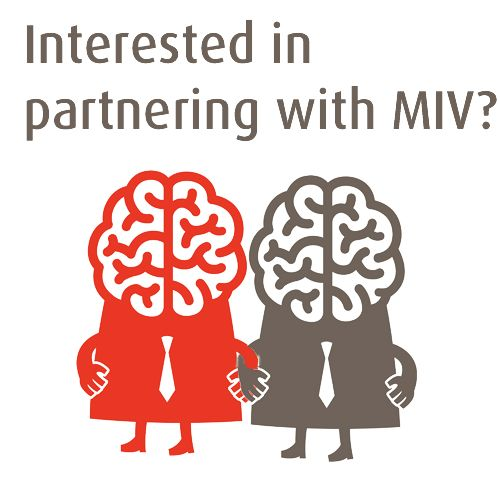 Are you interested in partnering with MIV? Get in touch to hear more about our sponsorship opportunities