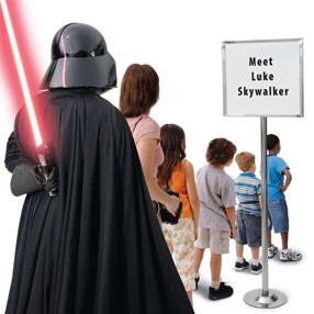 Think he'll notice?: Darth Vader, Funny Stars War, Disney World, Meeting Luke, Funny Stuff, Funny Posters, Disney Stars War, Luke Skywalker, Funny Memes