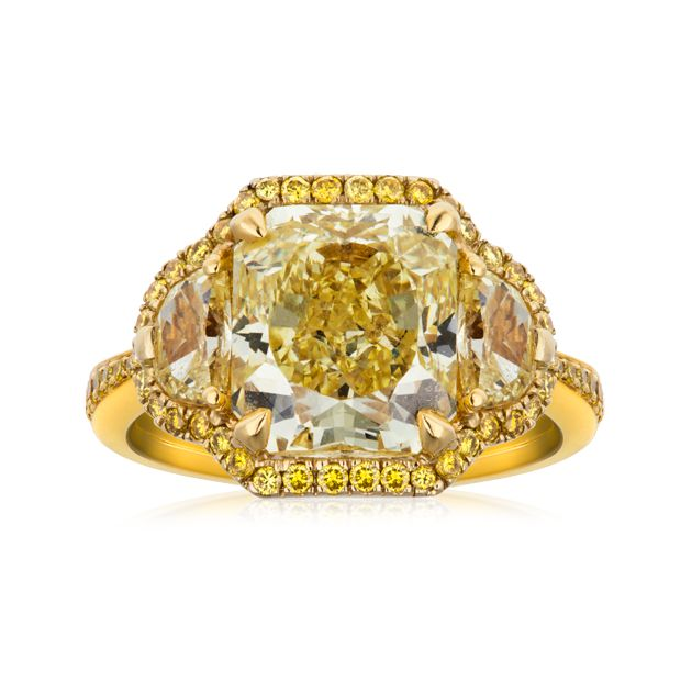 18ct Yellow Gold Dress Ring
