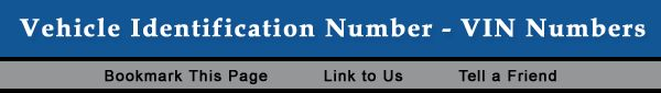 Free online search for car or truck VIN numbers. Find information on auto decoders and DMV record links.