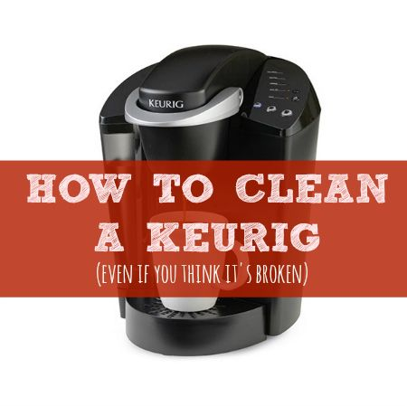 How to clean your Keurig -- even if you think it s broken! You think, The o jays and Beds
