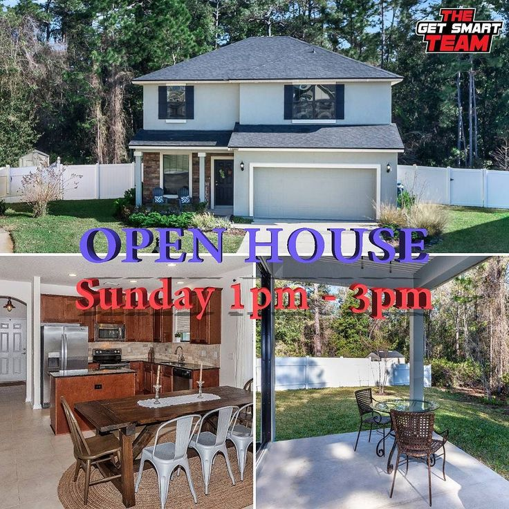 We Have A Couple Of Open Houses This Weekend!! Join Us Sunday At This Beautiful 4BR/2.5BA Victoria Lakes Home!  13897 Passmore Ct Jacksonville  From 1pm-3pm 239500 's (904)329900