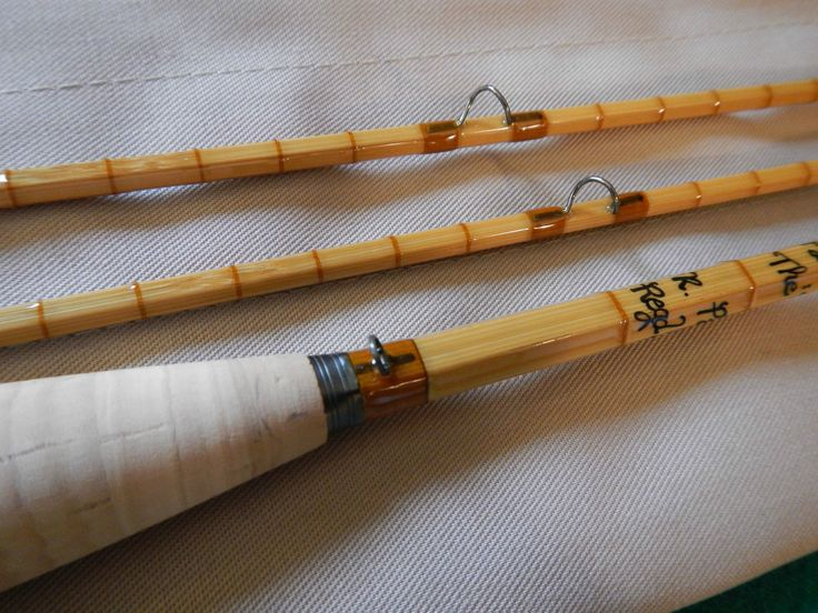 "Hardy ""CC de France"" Ltd Edition N.20 of 25 7' #4 2/2 Split Cane Bamboo Fly Rod 