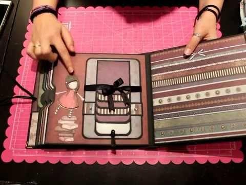Presentacion Taller Online Album Fairy Light Bellaluna crafts Scrapbooking - YouTube