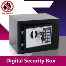 Digital Safe Box Small Household Mini Steel Safes Money Bank Safety Security Box Keep Cash Jewelry Or Document Securely With Key //Price: $US $66.01 & FREE Shipping //     #hashtag1