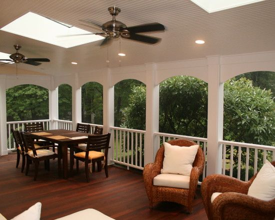 covered deck design photos ideas on a budget putting roof creates outdoor space rain floor plans