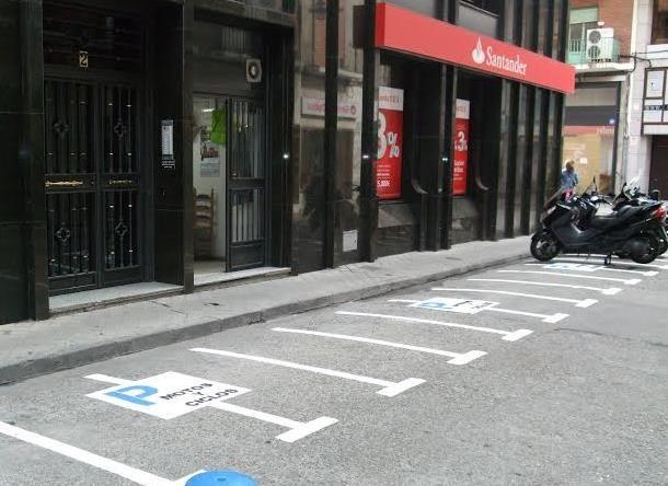 Creados los nuevos estacionamientos de motocicletas y ciclomotores en la ciudad - 45600mgzn