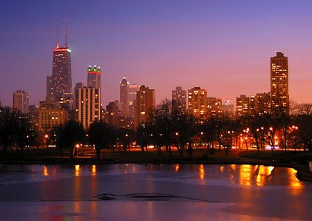 Lincoln Park skyline - Chicago