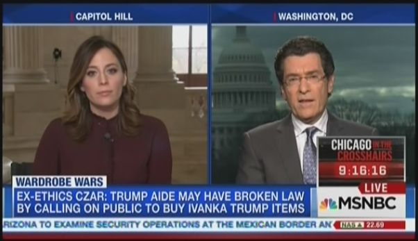 From the Februrary 9 edition of MSNBC'sMSNBC Live with Hallie Jackson: