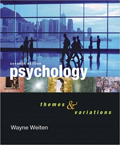 14 best psychology images on pinterest test bank for psychology themes and variations 10th edition by wayne weiten fandeluxe Image collections