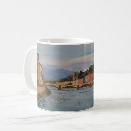 #River Arno Painting Mug - #office #gifts #giftideas #business