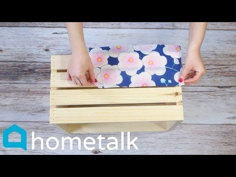 Dollar Store Napkin Hack | Grab 2 Michaels crates …