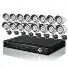 What is Included (1) 16 Channel 960H Security DVR(ZMD-DT-SJN6) (16) 700TVL High Resolution Bullet Camera(ZMD-CBH-BBS23NM) (16) 59ft (18m) Video + Power All-in-one Cable for Security Camera (4) 12V/150