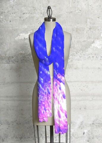Silk Square Scarf - Fluid Abstract Scarf by VIDA VIDA 0LSqR