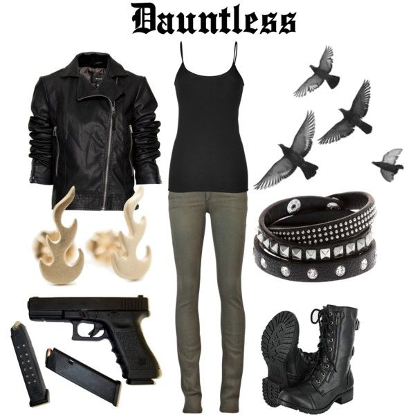 Dauntless from Divergent :D