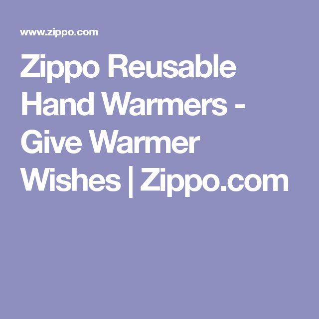 Zippo Reusable Hand Warmers - Give Warmer Wishes | Zippo.com