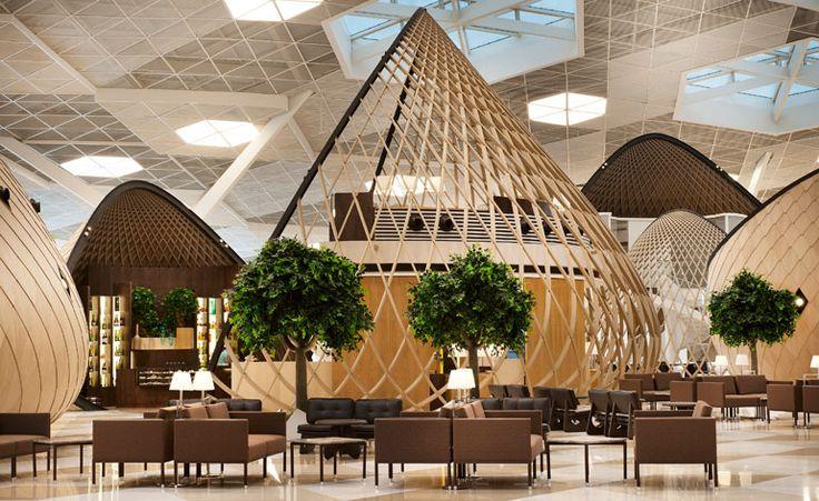Autoban's new interior at Baku's Heydar Aliyev International Airport is a sleek departure | Architecture | Wallpaper* Magazine