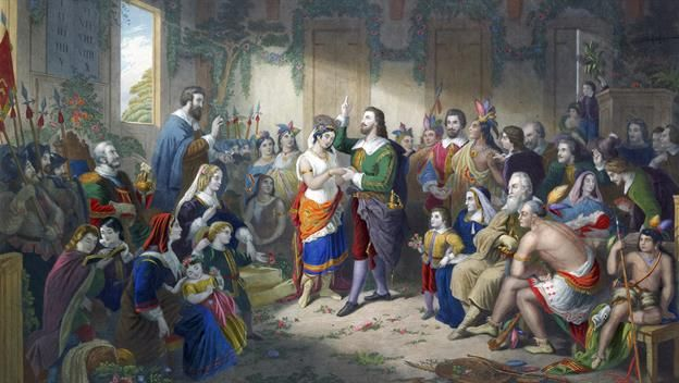 On this day in History, Pocahontas marries John Rolfe on Apr 05, 1614. Learn more about what happened today on History.