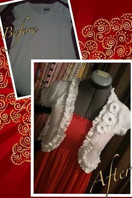 Ruched T-shirt Shrug Tutorial: T Shirts Shrug, Ruched T Shirts, Sewing Projects, Sewing Clothing, Shrug Tutorials, Tshirt Shrug, Diy Clothing, Easy Peasi, Ruched Tshirt