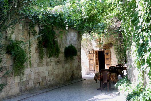Le quartier chrétien d'Alep (Syrie), photo : Gérard Grégor, Herodote.net
