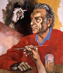 Renato Guttuso, self-portrait, 1975