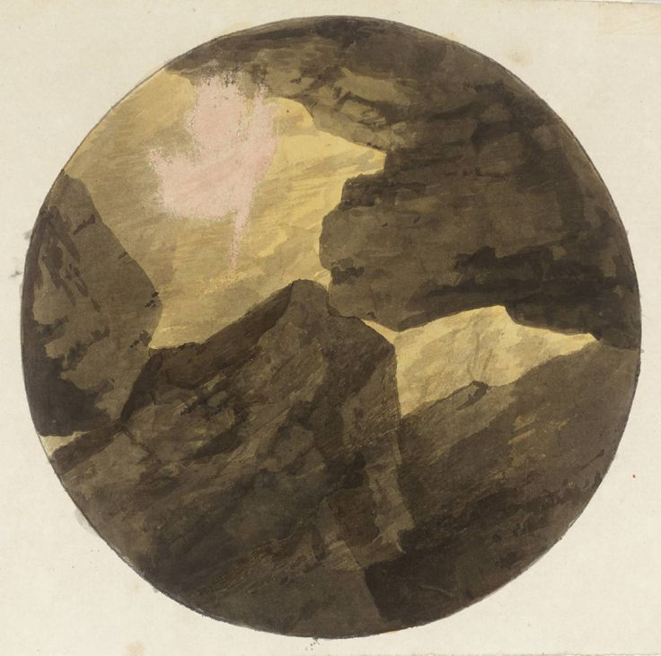John Robert Cozens 'A Milton Subject, Unfinished', date not known