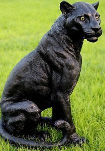Black Panther Statue JUST TOOO FUNNY Black Panther Statue Panther Black Panther