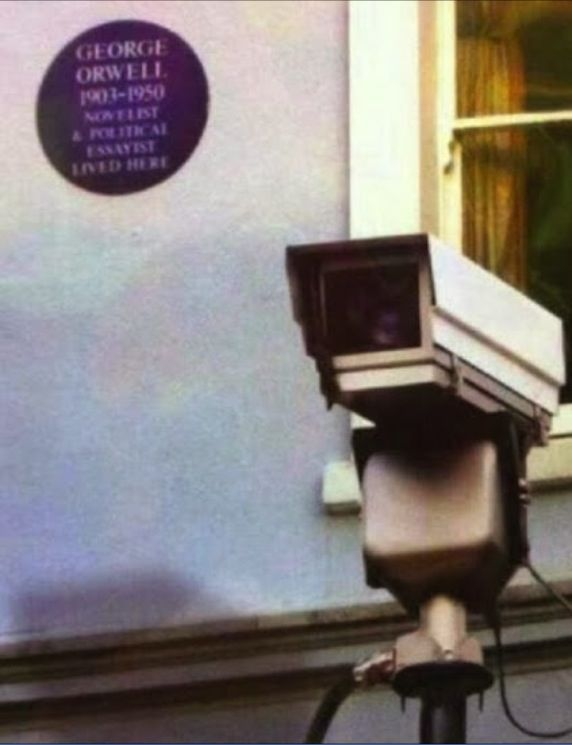 If you've read 1984, you'll know how hilarious this is. #Orwellian