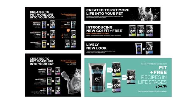 GO! Packaging by Petcurean by Subplot Design Inc. , via Behance