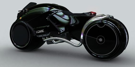 Batman Motorcycle | THE ICARE CONCEPT MOTORCYCLE would be my fantasy ride!