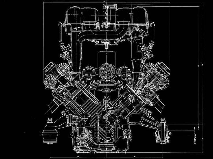 188 best blueprints motors images on pinterest mechanical ferrari 456 m engine blueprint smcars car blueprints forum malvernweather Choice Image