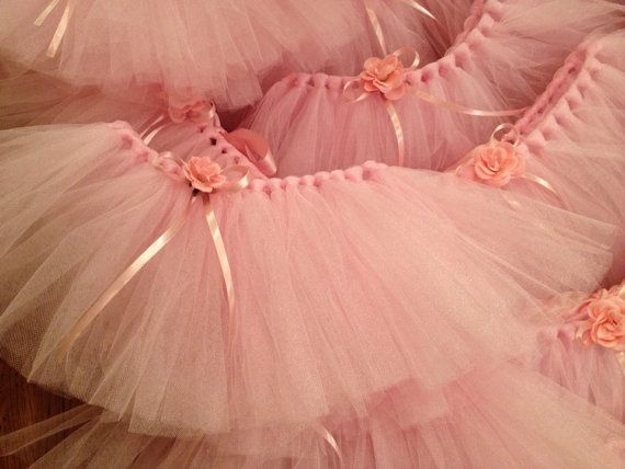 Ballerina Tutu Party Favors by SeeSalSew on Etsy