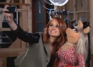 Disney Channel on the Set - Muppet Wiki |Muppets Most Wanted Debby Ryan