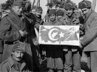 Turkish Soldiers in Korea