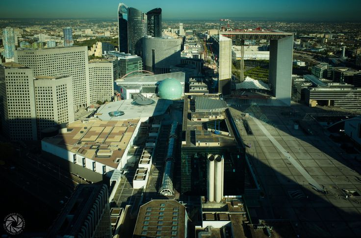 Getting Used to This Landscape (Long Shadows at La Défense)