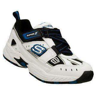 SKECHERS Kids' Good Sports Pre/Grd (White/Black/Royal 1.5 M)  #Skechers #Shoes