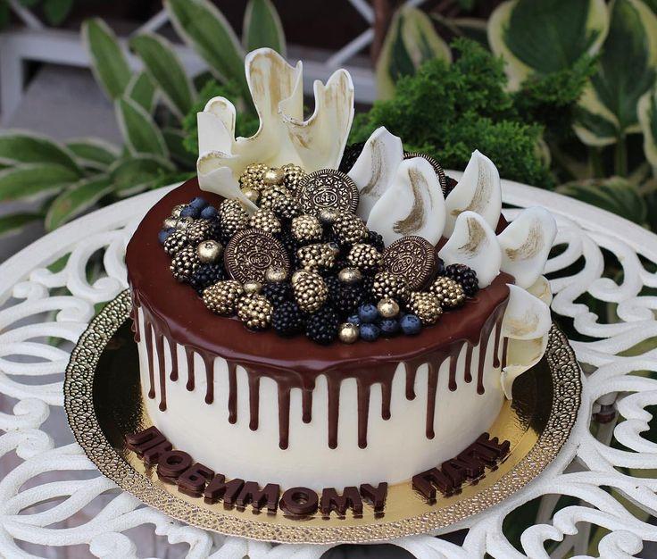 Торт Брауни с темным шоколадом, грецкими орехами и сливочно-творожным кремом, 4,3 кг.  Фото для конкурса #это_мой_торт5 от @anuta_maletina , спонсор @cakelandru