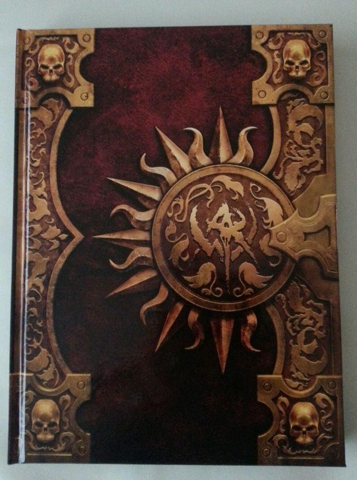 Warhammer Online Age Of Reckoning Hardcover Book from collector's Edition