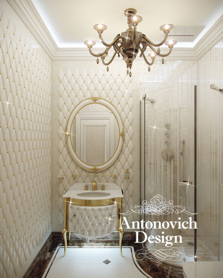 Antonovich design interiors best interior designers for Bachelor bathroom ideas
