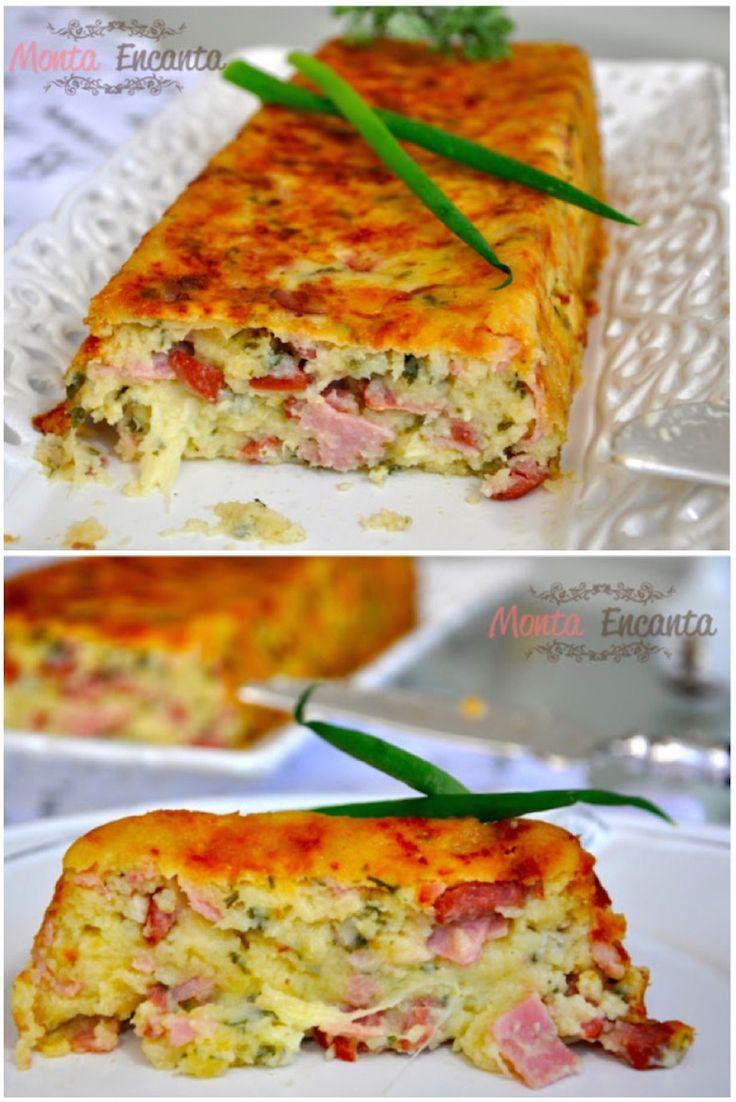 Gattò di Patate, um prato italiano rústico e delicado ao mesmo tempo. De fácil preparo feito com batatas cozidas amassadas mais ovos e especiarias.