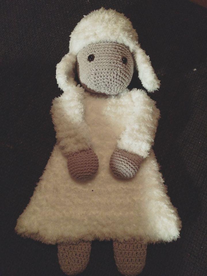 Lappenpop uit het boek Gehaakte lappenpoppen a la Sascha. Gemaakt door Jolanda…