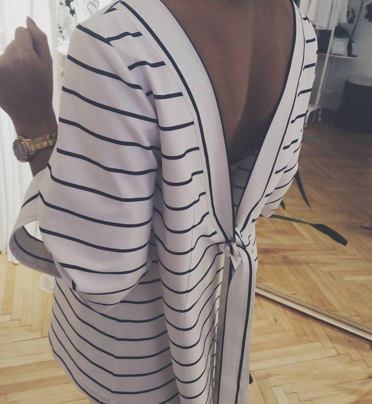 #Kimono #Stripes  #maisonraquette🌿⚓ S T R I P E S ⚓🌿 #resort #vacation #summer #outfit