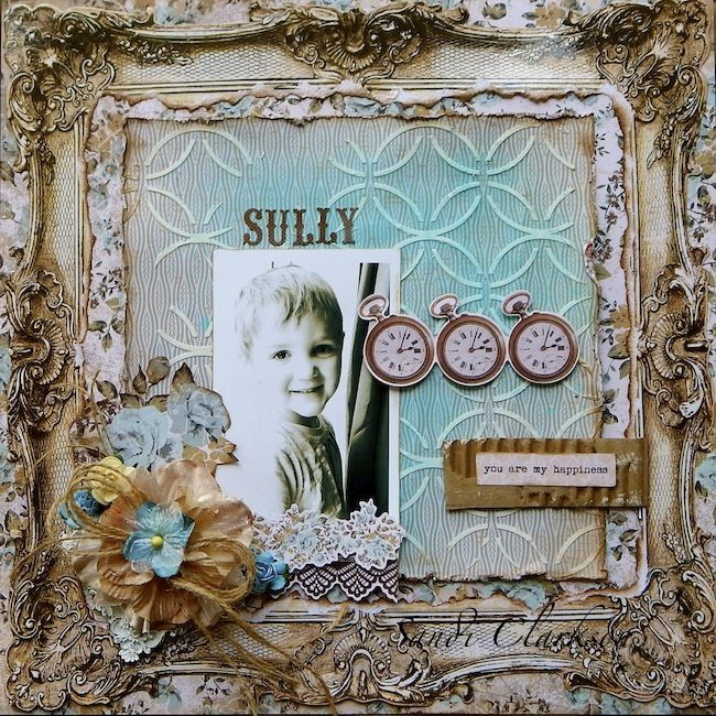 Sully ~ My Creative Scrapbook featuring the Limited Edition Kit. Lots of yummy KaiserCraft Storyteller and yummy Prima Marketing products.
