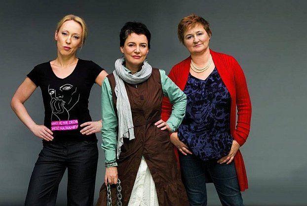 Katarzyna Bratkowska, Kazimiera Szczuka i Magdalena Środa