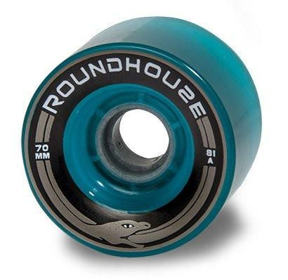 Roundhouse Carver Mag Wheels 70mm 81A- Aqua Mags - Surf' in Monkeys School & Shop