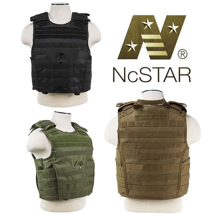 NcSTAR VISM Tactical Operator Military Expert Plate Carrier Body Armor Vest #NcSTAR