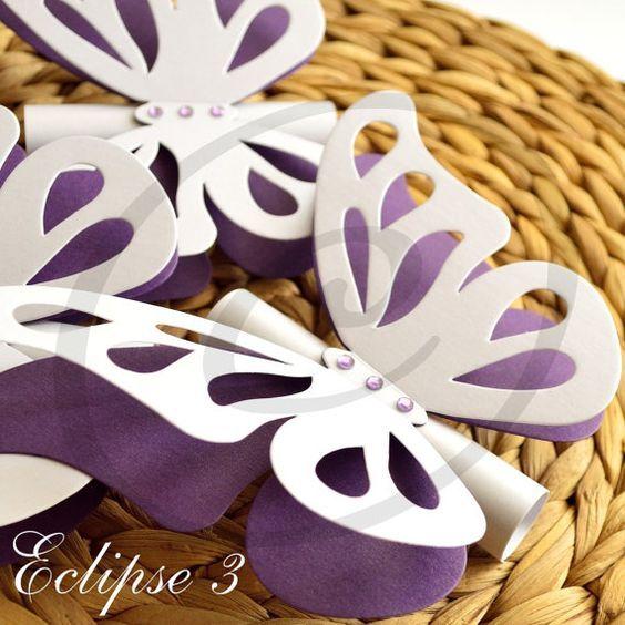 ideas-15-anos-tematica-mariposas (6) - Ideas para Fiestas de quinceañera - Decórala tu misma