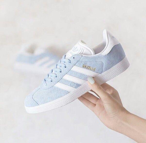 Pastel blue gazelle adidas